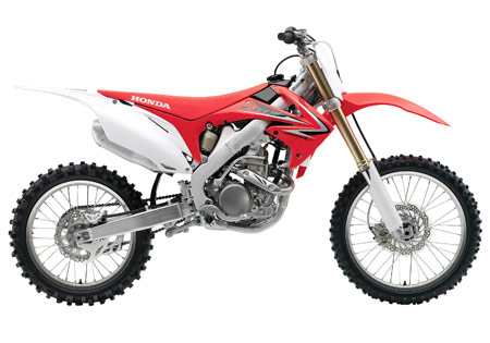 The 2010 Honda CRF250R receives fuel injection, engine and chassis updates.