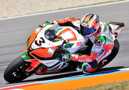 Max Biaggi is in full control, having won half of this season's races with four rounds remaining.