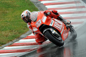 Marco Melandri's days with Ducati Marlboro are numbered.