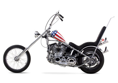 Captain America chopper from Easy Rider