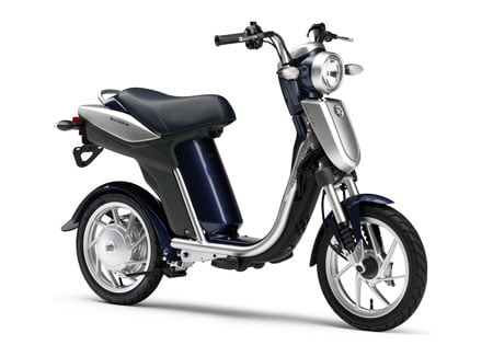 Yamaha will introduce the EC-03 scooter across Japan this fall.