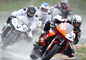 Taylor Knapp is alerady familiar with Buell, racing the 1125R in the Daytoan Sportbike class.