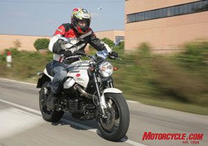 Motorcycle.com reviewer Yossef Schvetz was impressed with the 2008 Moto Guzzi Griso 1200 8V.