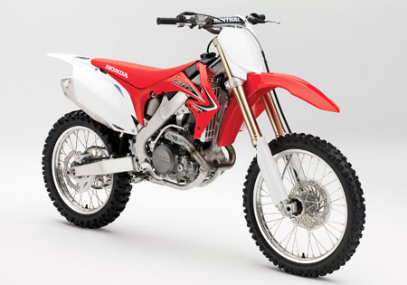 The Honda CRF450R receives some updates for 2011.