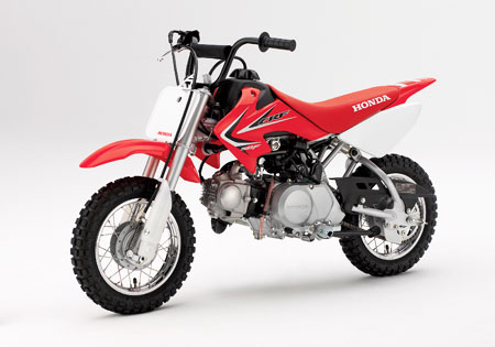 The youth-oriented CRF50F and the slighty larger CRF70F get bold new graphics for 2011.