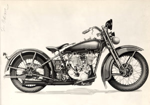 AMA Vintage Motorcycle Days celebrates classic bikes. Harley-Davidson Archives.