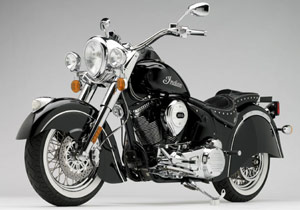 The limited-production 2009 Indian Chief Standard has a MSRP of $30,999.