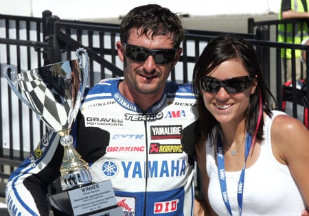 Racing couple Josh Hayes and Melissa Paris will ride Yamaha motorcycles in the 2010 AMA Pro Road Racing season.