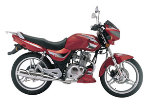 Dayang produces small-displacement bikes such as the DY125-36A.
