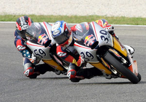 JD Beach (left) and Luis Salom (right) have been at the top of the standings all season.