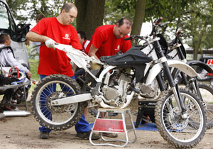 Husqvarna has been testing the TC 250 at various Motocross venues this summer.