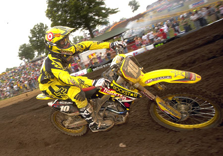 Ryan Dungey will be part of Team USA's effort in the 2009 Motocross of Nations.