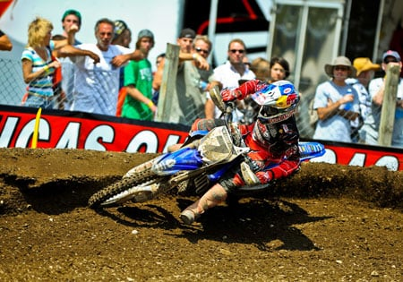 James Stewart returned to action at Unadilla after a seven month absence but was left off of the Team USA roster.