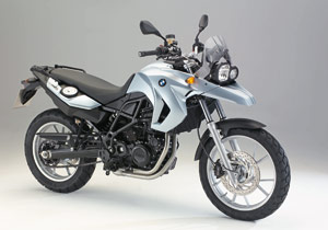 Don't let the name fool you; the 2009 BMW F650GS has a retuned version of the F800GS's 798cc engine.