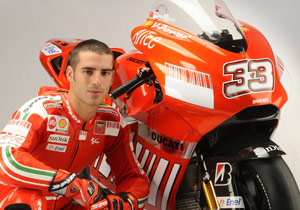 Marco Melandri's days with Ducati Marlboro appear to be numbered.