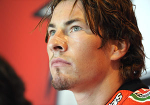 Ducati has the option of retaining Nicky Hayden for 2010.