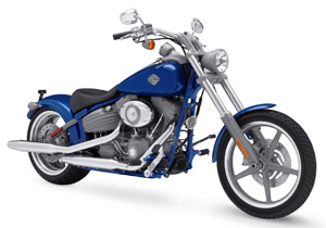 One of the items in the auction is a 2009 Harley-Davidson Rocker which will be customized at Main Street at the Lakefront in Milwaukee during the Motor Company's 105th anniversary celebration.