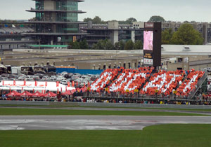 The Ducatisti showed their pride at the 2008 Indianapolis Grand Prix.