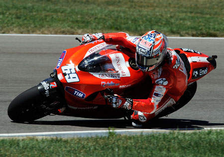 Nicky Hayden has signed on to race at least two more years for Ducati.