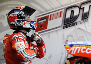 With five races remaining, Casey Stoner's chances of catching Valentino Rossi are slim.