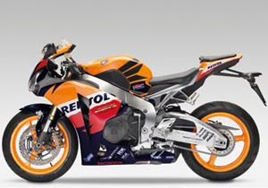 North American details have yet to be announced, but the CBR1000RR with Repsol Honda colours should appeal to Nicky Hayden fans.