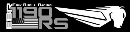 Erik Buell Racing has begun selling swag bearing the 1190RS logo.