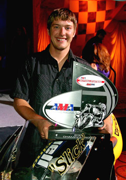 Danny Eslick won the 2009 Daytona Sportbike in the Buell 1125R's debut season.