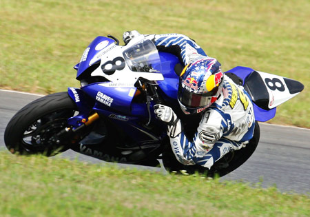 Josh Herrin was the hottest rider through the final leg of the 2009 season with 4 wins and 8 podium positions in nine races.