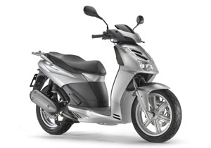 Aprilia did a complete redesign in producing the SportCity Cube 250.