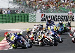 Valentino Rossi leads the way as motorcycle racing makes its long-awaited return to Indianapolis Motor Speedway.