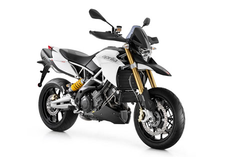 The 2011 Aprilia Dorsoduro 1200 uses a new 1200 V-Twin Aprilia claims is the best in its class.