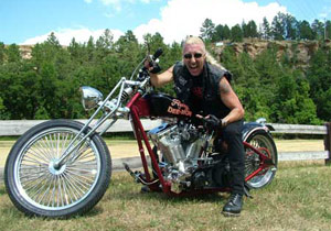 "Dee Snider is best known for the Twisted Singer songs ""We're Not Gonna Take It"" and ""I Wanna Rock""."