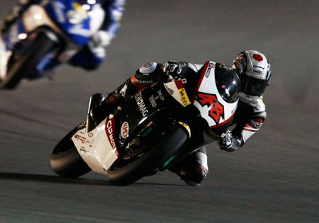 Shoya Tomizawa won the very first Moto2 race and finished second in the second race. His number 48 will be retired from use in Moto2.