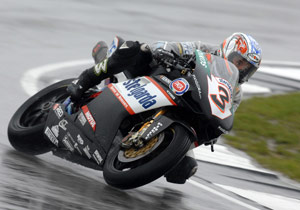 Max Biaggi will reunite with Aprilia, a team he won three world championships with in the mid '90s.