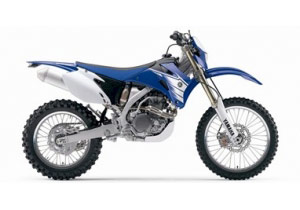 MotoVentures provides customers with a choice of 2007 Yamaha bikes such as the WR450.