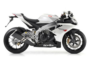 "Don't be fooled by the nomenclature: Aprilia uses ""Factory"" to label its higher-spec models."