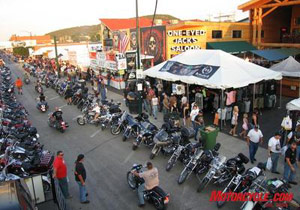 Attendance was down at the 68th Sturgis Motorcycle Rally.