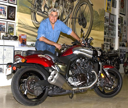 Proceeds from the auction of Jay Leno's customized V-Max will support Bailey's Café.