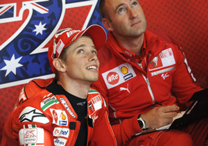 A returning Casey Stoner may be the wild card in the championship battle between Jorge Lorenzo and Valentino Rossi.