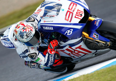 Jorge Lorenzo will remain with the Yamaha factory MotoGP team for at least two more years.