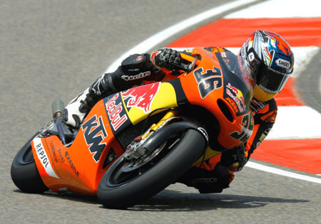 Pramac Ducati rider Mika Kallio raced for KTM before moving up to the premier MotoGP class in 2009.