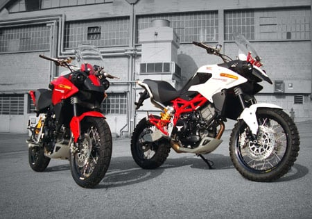 Despite its financial problems, Moto Morini has updated its Granpasso 1200 for 2010.