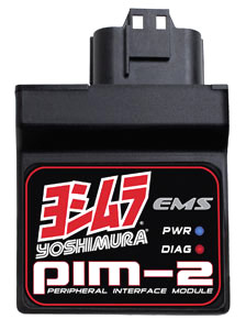 The PIM-2 brings Yoshimura's EFI tuning technology to off-world machines.