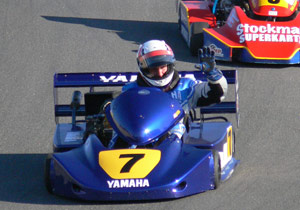 Lawson wins Laguna Seca kart race