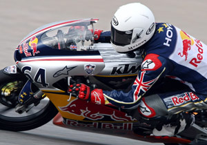 Matthew Hoyle saved his best for last, earning his first Red Bull Rookies win in his final race.