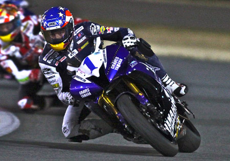 Ben Bostrom won the 2009 Daytona 200 on a Graves Motorsports-prepped Yamaha R6.