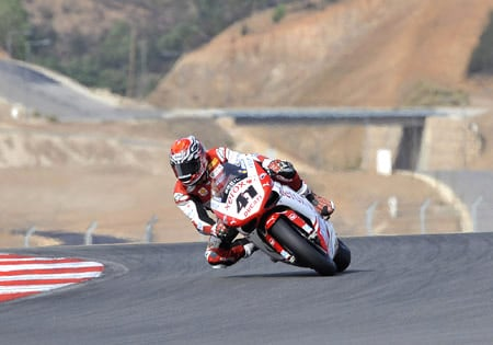 Noriyuki Haga puts the disappointing finish to the 2009 season behind him as he prepares for 2010.