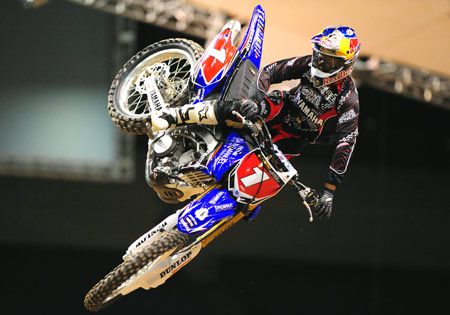 James Stewart won the 2009 AMA Supercross and the U.S. Open for the L&M Racing Yamaha squad.
