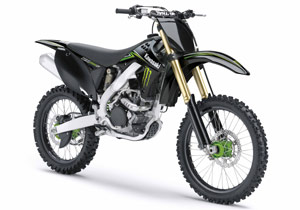 Amateur riders will get the chance to race on a factory-backed Kawasaki KX250F.