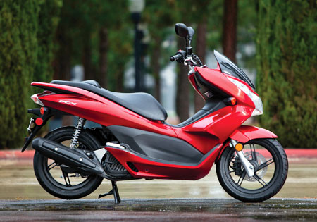 Honda credits the PCX for buoying sales in several markets.